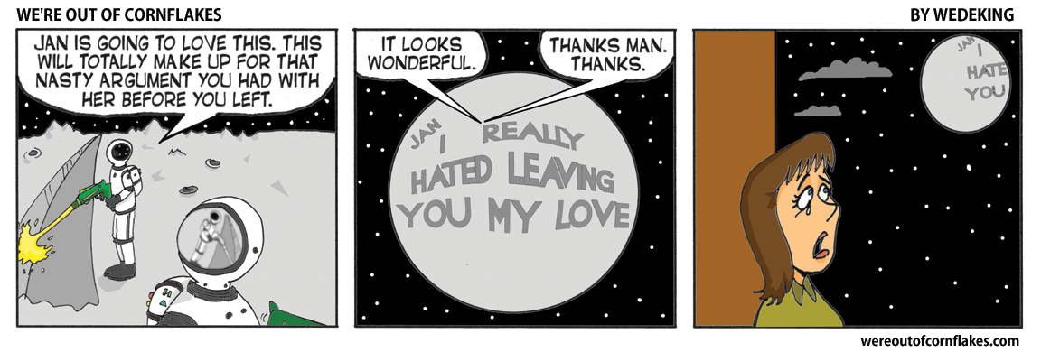 Message on the Moon