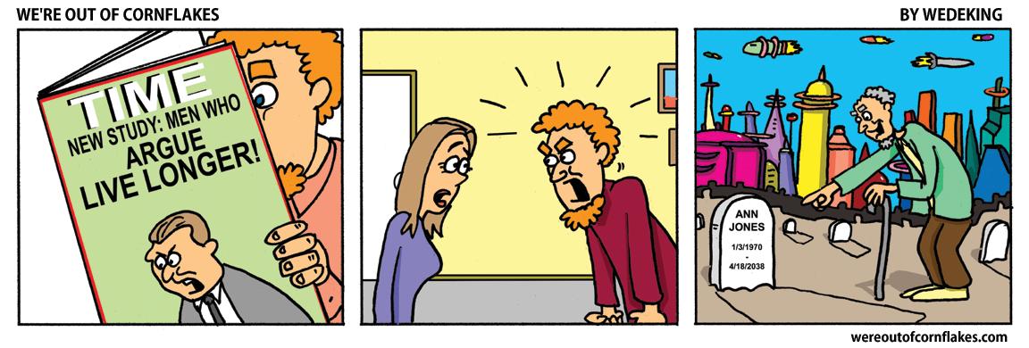 Men who argue