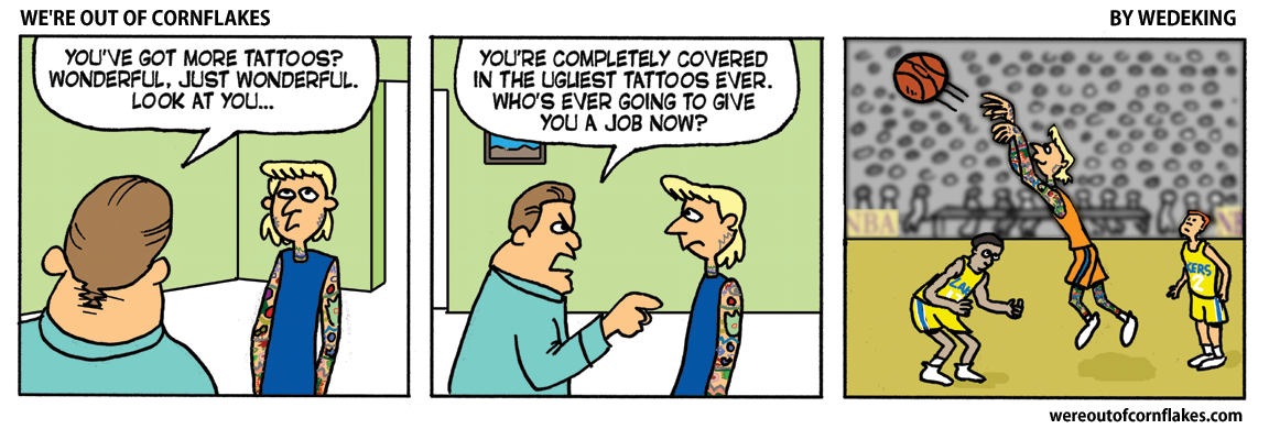 Best job for the heavily tatted.