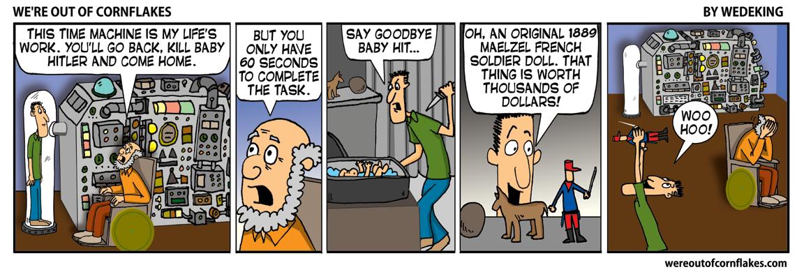 Killing baby Hitler