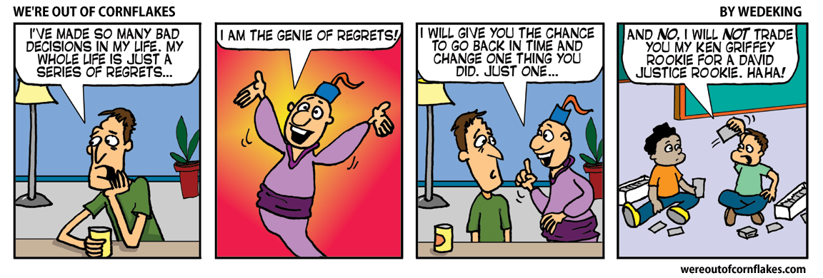 The genie of regrets