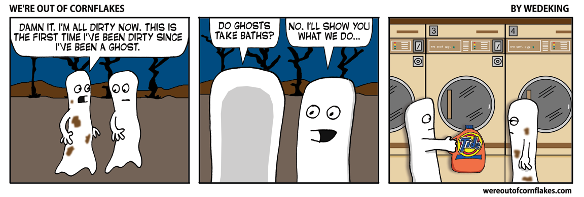 Dirty ghost