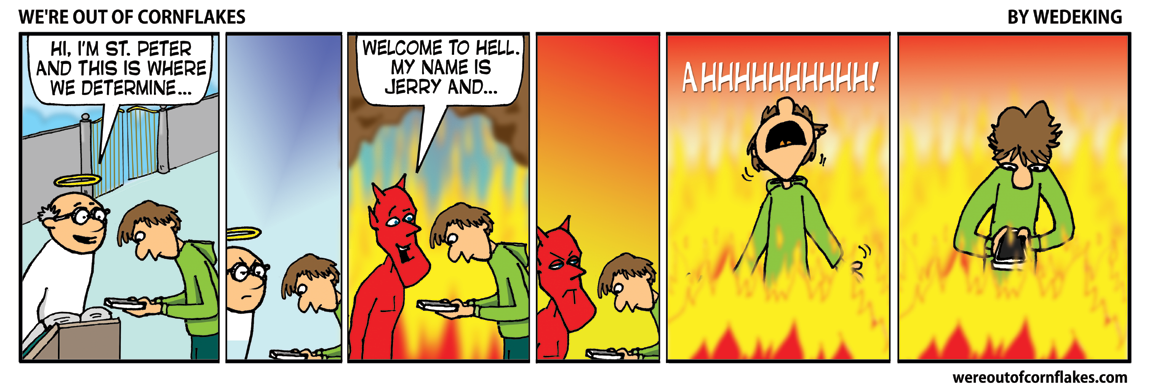 Hell is hell: the texter