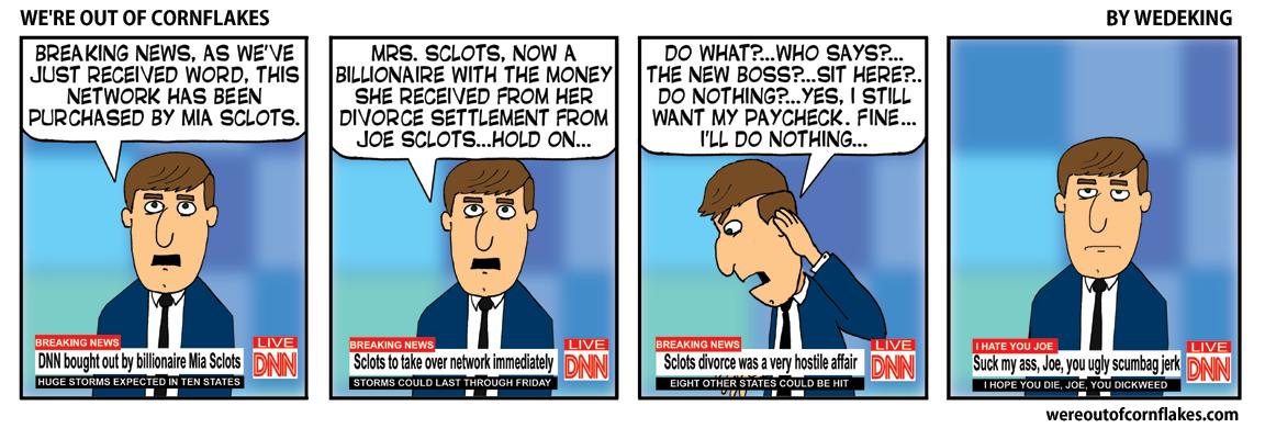 A special newscast