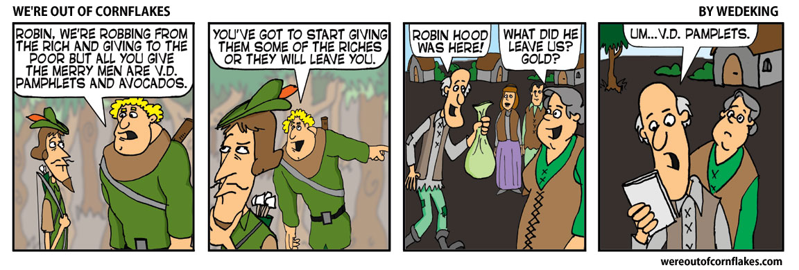 Robin Hood makes some changes