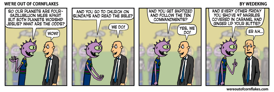 Aliens who are also Christians