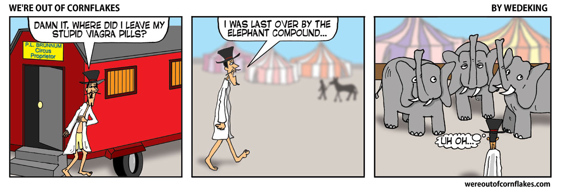 Losing stuff you don't want to lose at the circus