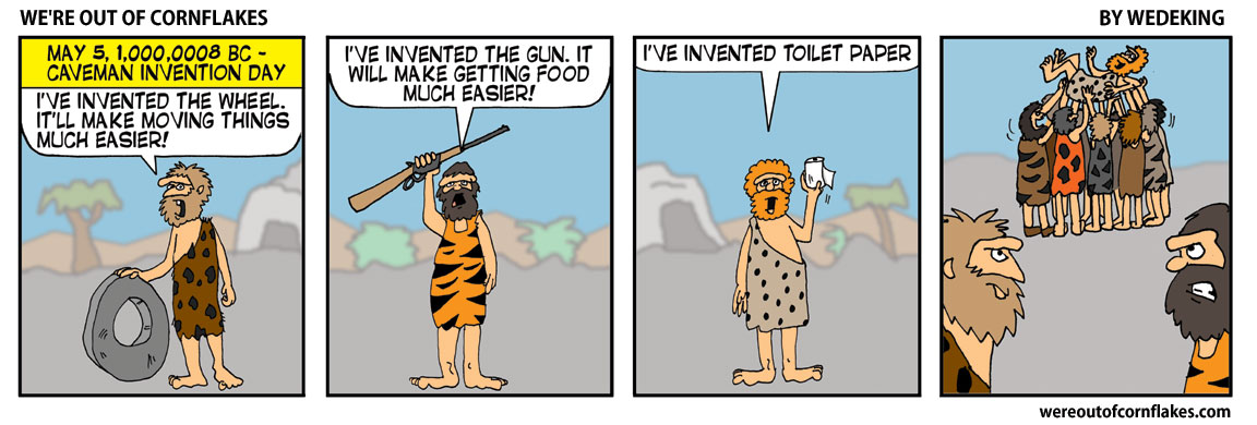 Caveman invention day