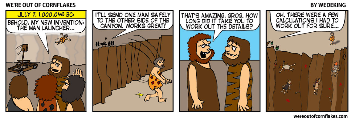 The Caveman Launcher