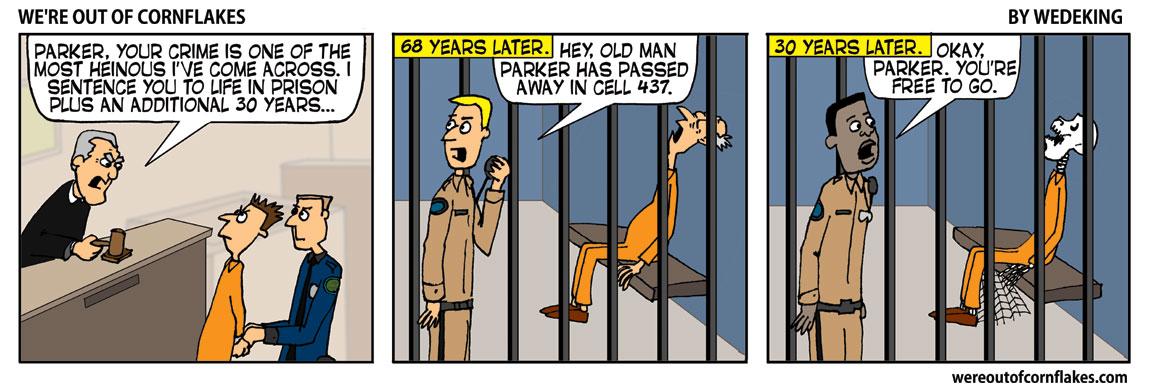 Harsh prison sentence