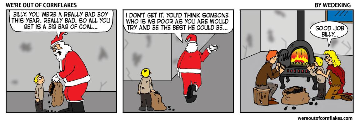 A bad boy on Christmas