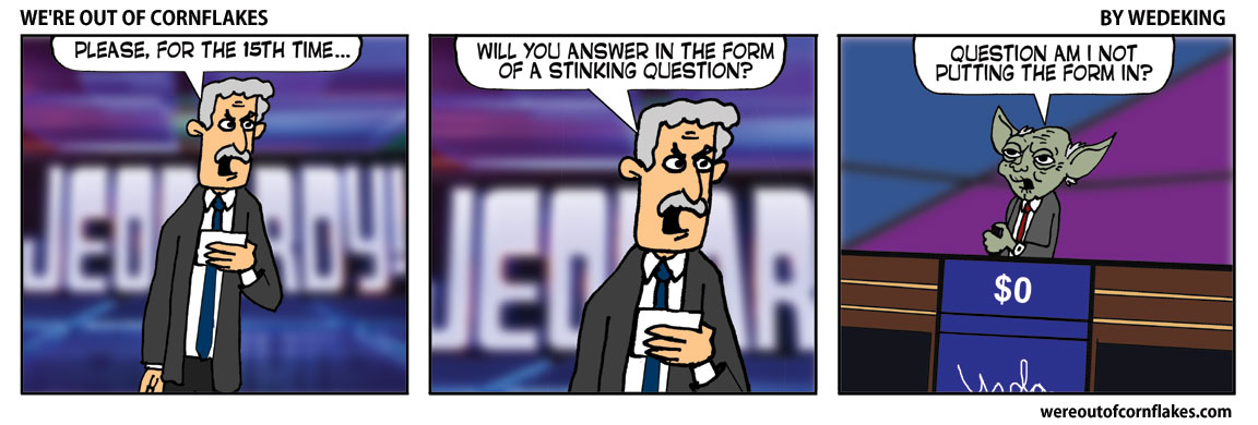 On Celebrity Jeopardy
