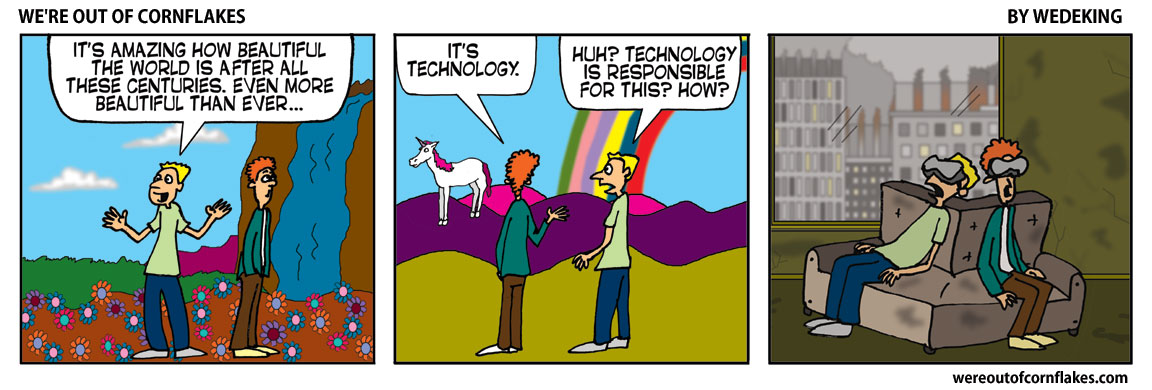 Technology is responsible